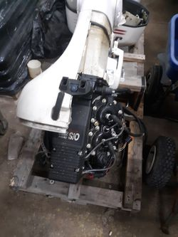 Evinrude Saltwater Motor for Sale in Plainfield,  IL