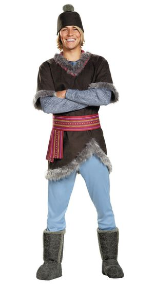 Disney Frozen Kristoff Adul Halloween Costume XXL for Sale in Gaithersburg, MD
