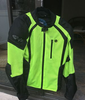 Joe Rocket motorcycle jacket, LG, with back armor, elbow and shoulder armor and two additional layers, one vest and one jacket. Like new, for Sale in San Diego, CA