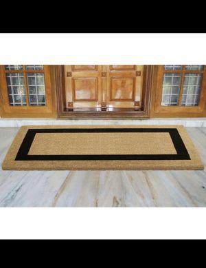 Single Picture Frame Black 36 in. x 72 in. Heavy-duty Coir Door Mat for Sale in Scottsdale, AZ