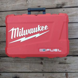 New Empty Hard Case For Fuel Impact+ Hammer Drill+ 2 Batteries And Charger for Sale in Oklahoma City, OK