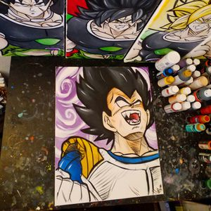 Vegeta Transforming! By Quil - Dragonball Z for Sale in Tracy, CA