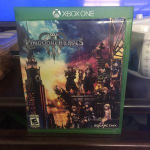 Kingdom Hearts 3 (Xbox One) for Sale in Fontana, CA