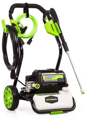 Green works 2000 pressure washer for Sale in Tampa, FL