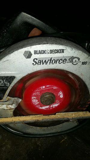 Black & decker vintage corded saw for Sale in Stanton, CA