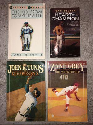 Baseball Book Lot (Children/Teen) John Tunis, Zane Grey, Carl Deuker, Matt Christopher, Kid from Tomkinsville for Sale in Delray Beach, FL