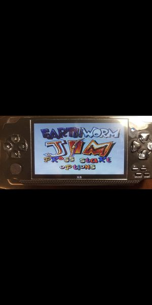 4.3 inch screen Handheld Portable Game Console Earth Worm Jim! AND 10,000 Free Games, for Sale in Miami, FL