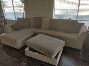 Sectional Beige for Sale in Gardena, CA