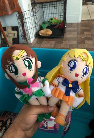Sailor moon plush 5 dollars each for Sale in Orlando, FL