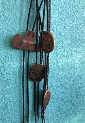 Bolo Ties - various designs for Sale in Fort McDowell, AZ