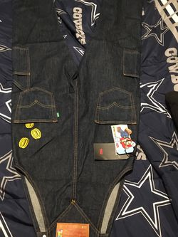 Mario Brothers Overalls Made By Levi Strauss for Sale in Dinuba,  CA