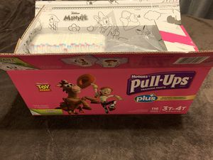 Huggies Pull Ups size 3T-4T for Sale in Lakeside, CA