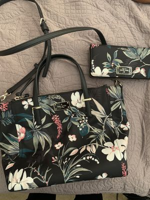 Kate Spade Purse and matching wallet for Sale in Tustin, CA