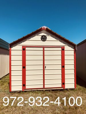 Metal shed 10x16 for Sale in Dallas, TX
