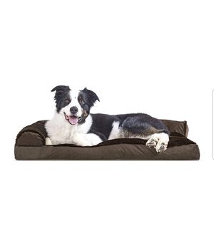 Furhaven Pet Dog Bed | Deluxe Pillow Cushion Chaise Lounge Sofa-Style Living Room Couch Pet Bed w/ Removable Cover for Dogs & Cats for Sale in Los Angeles, CA