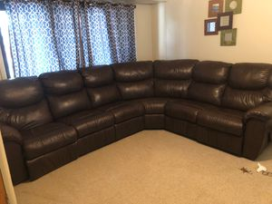 Sectional couch reclining both sides for Sale in West Seneca, NY