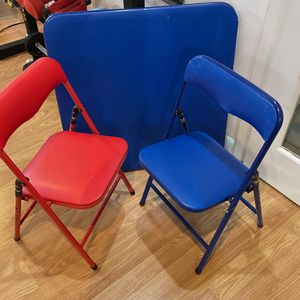 Kids Table And 2 Chairs for Sale in Milford, MA