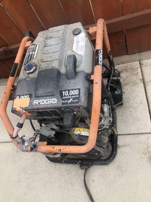 Ridgid generator for Sale in San Diego, CA