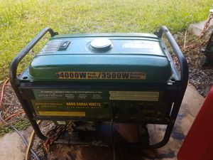4000 watt sportsman generator for Sale in Mountain View, HI