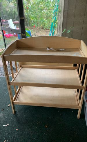 changing table $20 for Sale in Tampa, FL