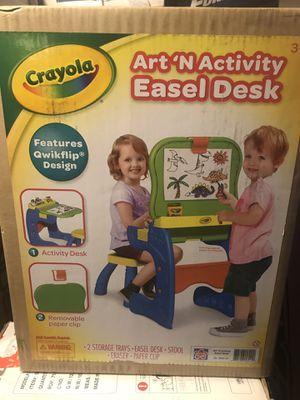 Crayola art n activity easel desk for Sale in Payson, AZ