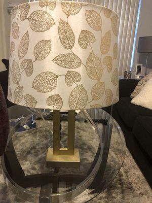 Gold lamp for Sale in Hollywood, FL