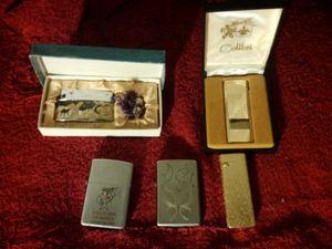 Lighters lot. Zippo, Colibri, Cyma for Sale in Fresno, CA