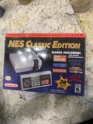 NES classic edition for Sale in Houston, TX