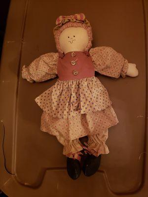 Cuddly Stuffed Doll for Sale in Richland, WA