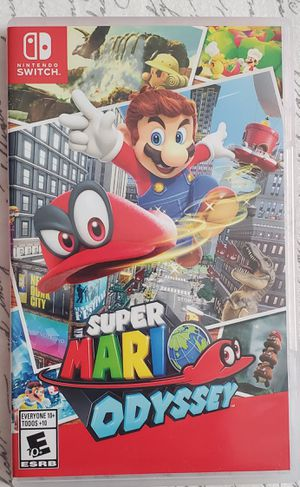 Super mario odyssey for Nintendo switch for Sale in Ramsey, NJ