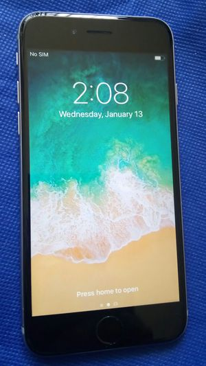 APPLE IPHONE 6 64 GB WORKING GREAT FOR AT&T CRICKET H2O REDPOCKET OR ANY AT&T NETWORKs CLEAN ICLOUD for Sale in Los Angeles, CA