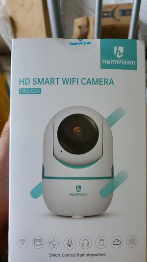 HeimVision 3MP Security Camera, HM202A Wireless WiFi Camera with Smart Night Vision/2 Way Audio/Motion Detection, Home Indoor Surveillance for Sale in Doraville, GA