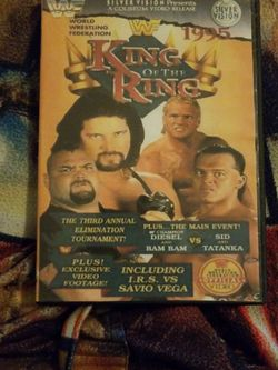 Wwf King of The Ring 1995 DVD for Sale in Chicago,  IL