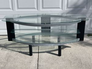Nice 3 Shelf TV Stand/Entertainment Center for Sale in New Port Richey, FL