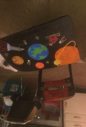 Hand painted Antique Child School / Homework desk for Sale in Alexandria, VA