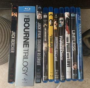 Lot of Action Blue Ray Discs Movies for Sale in Miami, FL