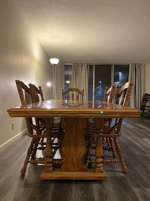 "6.5"" Dining Table with 5 Chairs for Sale in Riverside, CA"