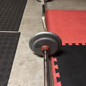 E-z Curl Bar and Weights for Sale in Vancouver, WA