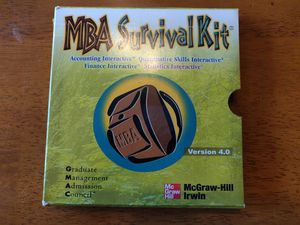 MBA Survival Kit - 4 interactive CDs for Sale in Torrance, CA