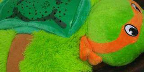 Dream Lites Ninja Turtle Michaelangelo Pillow Pet for Sale in Fresno,  CA