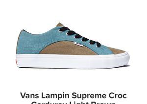 Supreme Vans Croc for Sale in Aurora, CO