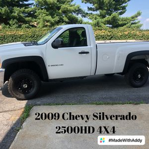 2009 Chevy 2500HD 4X4 for Sale in Reading, PA