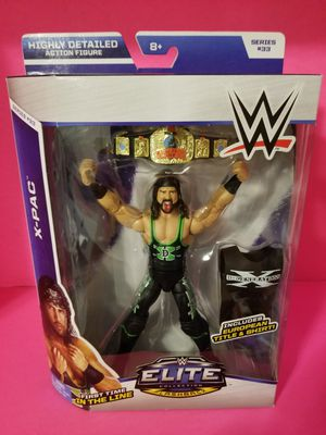 WWE Elite Wrestling figures Xpac X-Pac Syxx for Sale in Highland, CA