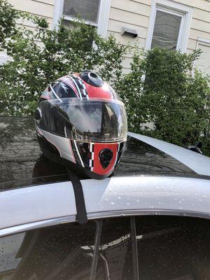 DOT fiberglass motorcycle helmet for Sale in Englewood, NJ
