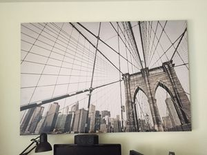 Large Canvas Wall Art Painting MOVING SALE! for Sale in Fairfax, VA