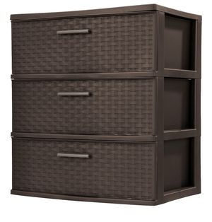(Selling 3 qty) of Sterilite® 3-Drawer Wide Tower for Sale in San Diego, CA