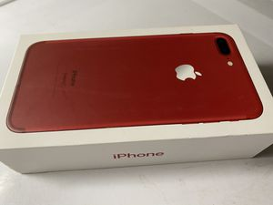 iPhone 7 Plus red for Sale in Greenbush, ME