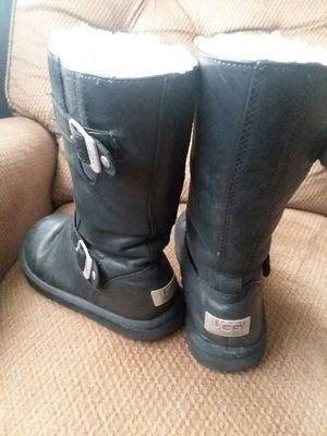 UGG BLACK BOOTS for Sale in Tulsa, OK