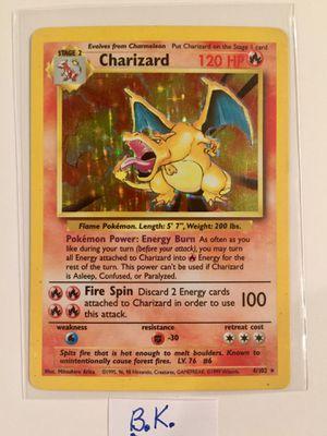 Charizard Pokemon Card #4/102 for Sale in Riverside, CA