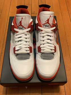 Air Jordan 4 Fire Red size 10 new for Sale in Revere,  MA